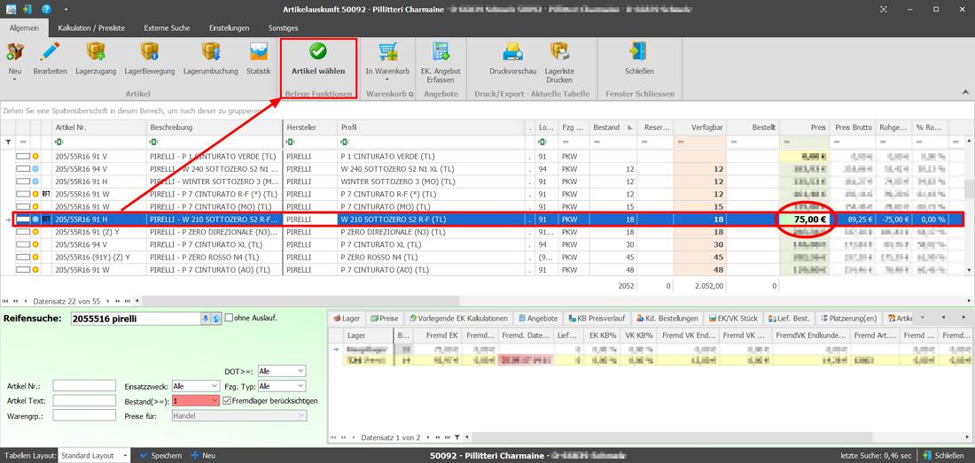 Software Für Den Reifenhandel Plusfakt Enterprise